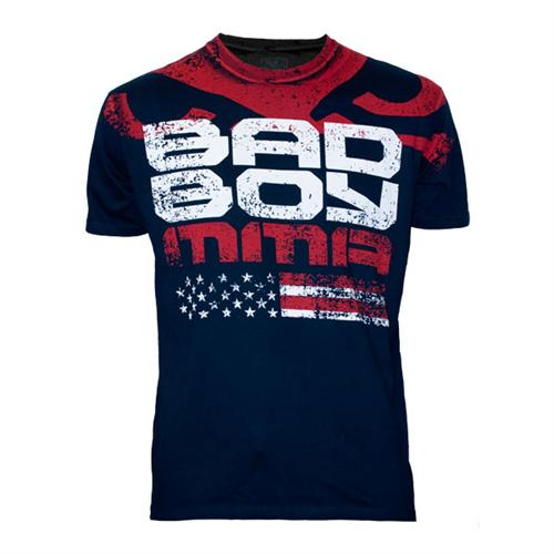 Bad Boy Bad Boy American Flag Midnight Blue Shirt